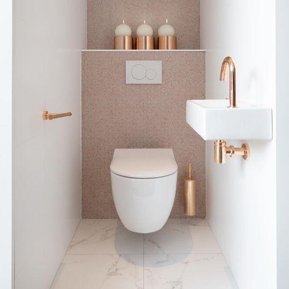 moderne toilet inspiratie, voorbeelden en ideeën met zwevend toilet, spiegels en wasbakken 9